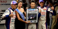 Toyota on pole for 24 Hours of Le Mans