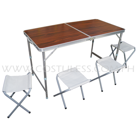 Sumo Foldable Picnic Table & Chairs Set