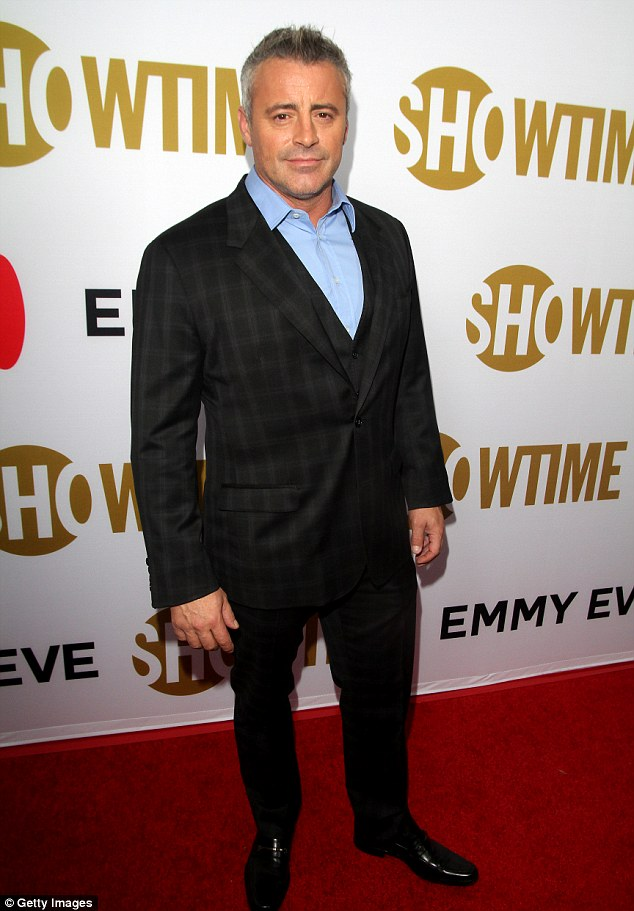Not a match: Fans will have to wait to see their The Office/Friends crossover, as Matt's comedy Man With a Plan will be finding a new leading lady, according toCBS Entertainment President Glenn Geller (Matt, pictured in September at Showtime's Emmy Eve party)