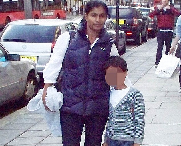 Victim: Dr Ramalingam (pictured) was a consultant obstetrician.Reports at the time said her husband, Palanichamy Chandra, a 49-year-old consultant gastroenterologist, dived in after them but could only save their ten-year-old son Hari