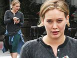 *EXCLUSIVE* Beverly Hills, CA - A barefaced Hilary Duff steps out with a friend in the 90210. The 28-year-old actress is wearing green leggings paired with a long sleeve grey tee for a comfy outting.\n  \nAKM-GSI        May 25, 2016\nTo License These Photos, Please Contact :\nSteve Ginsburg\n(310) 505-8447\n(323) 423-9397\nsteve@akmgsi.com\nsales@akmgsi.com\nor\nMaria Buda\n(917) 242-1505\nmbuda@akmgsi.com\nginsburgspalyinc@gmail.com