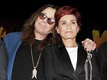 HOLLYWOOD, CA - MAY 12:  Ozzy Osbourne and Sharon Osbourne attend the Ozzy Osbourne and Corey Taylor special announcement press conference on May 12, 2016 in Hollywood, California.  (Photo by Tibrina Hobson/WireImage)