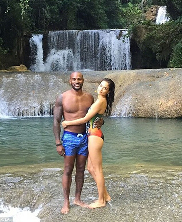 Old love: Tyson and Shanina ended their eight-year on-off relationship last summer, after meeting on reality TV