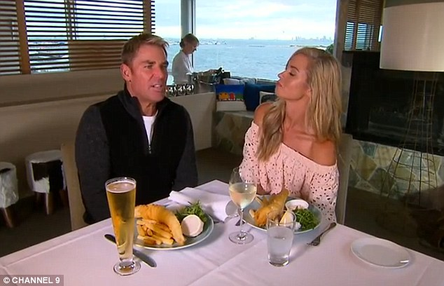 Being honest: Appearing on Channel Nine's Postcards , the 46-year-old admitted that 'It's hard being a single parent with teenagers... But I'm really lucky, they're great kids.'
