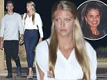 26.May.2016 - Malibu, CA  - USA ***AVAILABLE FOR UK AND GERMANY SALE ONLY *** Patrick Schwarzenegger and his model girlfriend Abby Champion keep close after a date night the Soho House Malibu opening night celebration. BYLINE MUST READ: AKM-GSI-XPOSURE ***UK CLIENTS - PICTURES CONTAINING CHILDREN PLEASE PIXELATE FACE PRIOR TO PUBLICATION *** *UK CLIENTS MUST CALL PRIOR TO TV OR ONLINE USAGE PLEASE TELEPHONE 0208 344 2007*