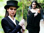 **MIN FEE TO BE AGREED**\nEXCLUSIVE: **PREMIUM RATES APPLY**  Kendall Jenner joins forces with Sara Sampaio and Taylor Hill for woodland photoshoot in North London. Kendall was seen in several outfits as she posed for the photos including some with a tyre swing. \\\n\nPictured: Kendall Jenner\nRef: SPL1289117  250516   EXCLUSIVE\nPicture by: James/Deano/Splash News\n\nSplash News and Pictures\nLos Angeles:\t310-821-2666\nNew York:\t212-619-2666\nLondon:\t870-934-2666\nphotodesk@splashnews.com\n