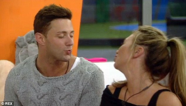 Friendly pair:The flirty nature of their friendship led fans to believe that a romance might blossom between them during their time on Celebrity Big Brother