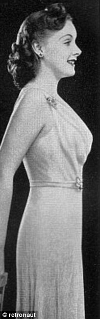 BEFORE AND AFTER CORSETS, 1940S