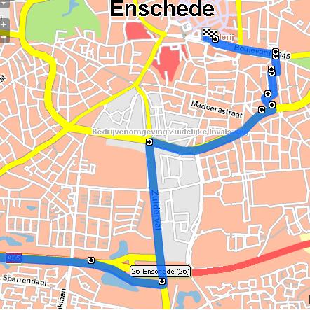 enschede primark route