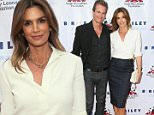 HOLLYWOOD, CA - MAY 25:  Model Cindy Crawford and Rande Gerber arrive at the 7th Annual Big Fighters, Big Cause Charity Boxing Night Benefiting The Sugar Ray Leonard Foundation at The Ray Dolby Ballroom at Hollywood & Highland Center on May 25, 2016 in Hollywood, California.  (Photo by David Livingston/Getty Images)