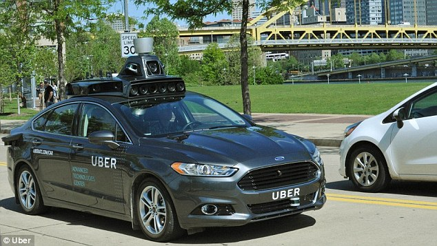 Uber announced that in the next coming weeks it will be testing autonomous vehicles around Pittsburgh, Pennsylvania in a car that 'should be driven by a superhero'. A hybrid Ford Fusions with the Uber logo will soon be seen mapping data of Steel City and testing its self-driving capabilities on public streets