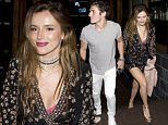 Bella Thorne wearing a loose summer dress was seen arriving for dinner with her boyfriend British actor Gregg Sulkin at 'Roku' on Sunset Blvd in Beverly Hills, CA\n\nPictured: Bella Thorne, Gregg Sulkin\nRef: SPL1290743  270516  \nPicture by: SPW / Splash News\n\nSplash News and Pictures\nLos Angeles: 310-821-2666\nNew York: 212-619-2666\nLondon: 870-934-2666\nphotodesk@splashnews.com\n