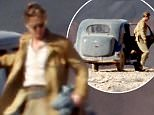 """Picture Shows: Brad Pitt  May 25, 2016    * Min Web / Online Fee £150 For Set *    American actor Brad Pitt is spotted filming new film """"Allied"""" in the Canary Islands. A video has recently emerged of Brad Pitt rescuing a young fan who was nearly crushed by other fans vying for a photo of the actor.     * Min Web / Online Fee £150 For Set *    EXCLUSIVE All Rounder  WORLDWIDE RIGHTS    Pictures by : FameFlynet UK © 2016  Tel : +44 (0)20 3551 5049  Email : info@fameflynet.uk.com"""