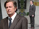 Matthew Perry looked every inch a Kennedy as he appeared on the Toronto set of his latest project as the late Ted Kennedy. The former Friends star is playing Kennedy opposite Katie Holmes in Reelz's 'The Kennedys - After Camelot.' The project is set to debut in 2017 and sees Perry play Kennedy in the years following the assassinations of his brothers Jack and Bobby.\n\nPictured: Matthew Perry\nRef: SPL1290160  270516  \nPicture by: Macca / Splash News\n\nSplash News and Pictures\nLos Angeles: 310-821-2666\nNew York: 212-619-2666\nLondon: 870-934-2666\nphotodesk@splashnews.com\n