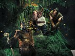 WARNING: Embargoed for publication until 00:00:01 on 24/05/2016 - Programme Name: A Midsummer Night's Dream - TX: n/a - Episode: A Midsummer Night's Dream (No. Generics) - Picture Shows: *STRICTLY NOT FOR PUBLICATION UNTIL 00:01HRS, TUESDAY 24TH MAY, 2016* Titania (MAXINE PEAKE), Bottom (MATT LUCAS) - (C) BBC - Photographer: Des Willie