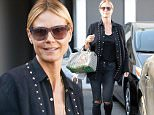 Picture Shows: Heidi Klum  May 27, 2016\n \n Model and TV host Heidi Klum was spotted shopping in Los Angeles, California. She has a bag of products she bought. Heidi was all smiles while she was out.\n \n Non Exclusive\n UK RIGHTS ONLY\n \n Pictures by : FameFlynet UK ? 2016\n Tel : +44 (0)20 3551 5049\n Email : info@fameflynet.uk.com