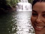 5h evalongoria#HoneyMoon #Love #Waterfalls