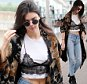 EXCLUSIVE FAO DAILY MAIL ONLINE - FEE AGREED Mandatory Credit: Photo by Beretta/Sims/REX/Shutterstock (5695524t) Kendall Jenner leaving her London hotel and arriving at Heathrow Airport. Kendall Jenner out and about, London, Britain - 27 May 2016