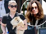 EXCLUSIVE: Kelly Osbourne and her pooch were seen enjoying a company of a friend while hanging out in West Village, New York\n\nPictured: Kelly Osbourne\nRef: SPL1291023  250516   EXCLUSIVE\nPicture by: Allan Bregg / Splash News\n\nSplash News and Pictures\nLos Angeles: 310-821-2666\nNew York: 212-619-2666\nLondon: 870-934-2666\nphotodesk@splashnews.com\n