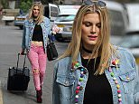 27.May.2016 - London - UK\n**EXCLUSIVE ALL ROUND PICTURES**\nFormer Made in Chelsea star Ashley James wears cute jacket and pink denim as she exits her Hoxton Radio Show in London\nBYLINE MUST READ : XPOSUREPHOTOS.COM\n***UK CLIENTS - PICTURES CONTAINING CHILDREN PLEASE PIXELATE FACE PRIOR TO PUBLICATION***\nUK CLIENTS MUST CALL PRIOR TO TV OR ONLINE USAGE PLEASE TELEPHONE 0208 344 2007
