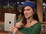 'I want my bacon': Pen�lope Cruz plays around with Dubsmash app with hilarious results