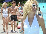 MANDATORY BYLINE: Jon Furniss / Corbis\nSinger and actress Pixie Lott, enjoyed a magical holiday with her boyfriend Olivier Cheshire and siblings at Walt Disney World Resort in Florida.\nMaking a splash, Pixie enjoys a day at Disney's Typhoon Lagoon waterpark\n\nPictured: Pixie Lott, Oliver Cheshire\nRef: SPL1291599  260516  \nPicture by: JF/Splash News\n\nSplash News and Pictures\nLos Angeles: 310-821-2666\nNew York: 212-619-2666\nLondon: 870-934-2666\nphotodesk@splashnews.com\n