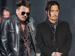"""NO JUST JARED USAGE """"Mortdecai"""" Los Angeles premiere at the TCL Chinese Theater in Hollywood, CA.  Pictured: Johnny Depp Ref: SPL933523  220115   Picture by: Splash News  Splash News and Pictures Los Angeles: 310-821-2666 New York: 212-619-2666 London: 870-934-2666 photodesk@splashnews.com"""