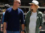 Picture Shows: Adi Ezra, Bar Refaeli  May 26, 2016    Pregnant model Bar Refaeli and her husband Adi Ezra are spotted out and about during their vacation in Barcelona, Spain.    Bar is expecting her first baby, a little girl, with Adi who is an Israeli businessman. The happy couple married in September last year.    Non Exclusive  UK RIGHTS ONLY    Pictures by : FameFlynet UK ? 2016  Tel : +44 (0)20 3551 5049  Email : info@fameflynet.uk.com