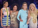 *** MANDATORY BYLINE TO READ: Syco / Thames / Dymond *** Britain's Got Talent Live Semi-Finals, London, 26 May 2016  Pictured: David Walliams, Alesha Dixon, Amanda Holden, Simon Cowell Ref: SPL1291728  260516   Picture by: Syco / Thames / Dymond