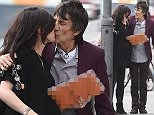 Picture Shows: Sally Wood, Ronnie Wood  May 20, 2016\\n \\n * Min Web / Online Fee ?250 For Set *\\n \\n Ronnie Wood and heavily pregnant Sally Wood are seen sharing a kiss while out and about in London, England, UK.\\n \\n * Min Web / Online Fee ?250 For Set *\\n \\n EXCLUSIVE All Rounder\\n WORLDWIDE RIGHTS\\n \\n Pictures by : FameFlynet UK � 2016\\n Tel : +44 (0)20 3551 5049\\n Email : info@fameflynet.uk.com
