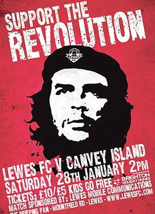 Revolution: An image of Che Guevara for the Canvey game