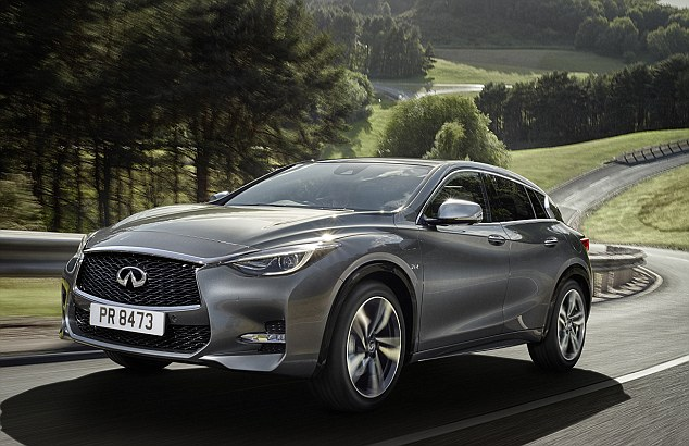 Newcomer: The Q30 is the latest offering from Nissan's luxury division Infiniti.. but does it have what it takes to lure customers away from the established brands