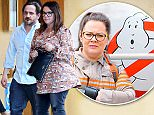 Los Angeles, CA - Comedian Melissa McCarthy and husband Ben Falcone look to have some family time and take their daughters Georgette and Vivian out for dinner at Mozza Pizzeria.  Melissa was quite the protective mom making sure her girls where out of harms way from the busy street.\nAKM-GSI          May 28, 2016\nTo License These Photos, Please Contact :\nMaria Buda\n(917) 242-1505\nmbuda@akmgsi.com\nsales@akmgsi.com\nor \nMark Satter\n(317) 691-9592\nmsatter@akmgsi.com\nsales@akmgsi.com