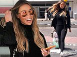 28.May.2016 - Glasgow - Scotland **EXCLUSIVE ALL ROUND PICTURES** The Only Way is Essex star and DJ Lauren Pope is spotted arriving at Glasgow Airport dressed all in black and wearing sunglasses.  BYLINE MUST READ : XPOSUREPHOTOS.COM ***UK CLIENTS - PICTURES CONTAINING CHILDREN PLEASE PIXELATE FACE PRIOR TO PUBLICATION*** UK CLIENTS MUST CALL PRIOR TO TV OR ONLINE USAGE