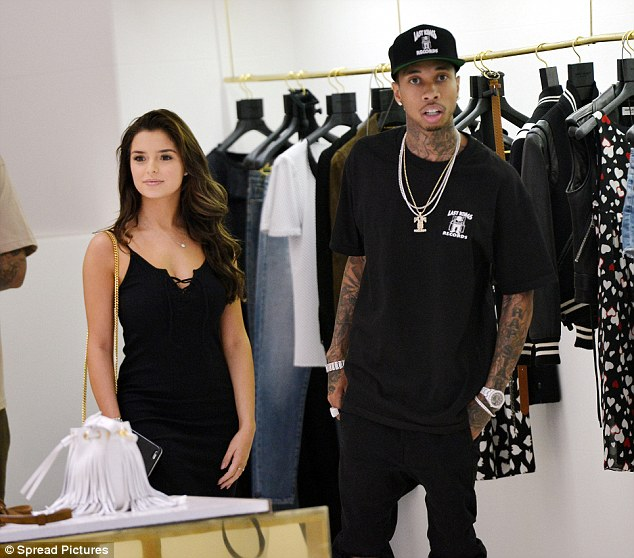 The new Kylie: Tyga took Demi Rose to a YSL store in Cannes on Friday