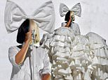 BOSTON, MA - MAY 27:  Sia performs on Day 1 of the Boston Calling Festival on Government Center Plaza on May 27, 2016 in Boston, Massachusetts.  (Photo by Paul Marotta/Getty Images)