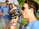 Miles Teller spends the day with his girlfriend at BottleRock Music Festival in Napa Valley, CA\n\nPictured: Miles Teller\nRef: SPL1290606  270516  \nPicture by: CoastLine Press\n\nSplash News and Pictures\nLos Angeles: 310-821-2666\nNew York: 212-619-2666\nLondon: 870-934-2666\nphotodesk@splashnews.com\n
