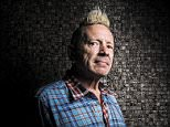 Musician John Lydon aka Johnny Rotton pictured in Bloomsbury, London, U.K. is an English singer-songwriter, television presenter and painter, best known as the lead singer of punk rock band the Sex Pistols from 1975 until 1978, and again for various revivals during the 1990s and 2000s. He is the lead singer of the post-punk band Public Image Ltd (PiL), which he founded and fronted from 1978 until 1993, and again since 2009. Throughout his career, Lydon has made controversial or dismissive comments about the British Royal Family and other subjects. © Jason Alden / eyevine Contact eyevine for more information about using this image: T: +44 (0) 20 8709 8709 E: info@eyevine.com  http:///www.eyevine.com