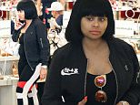 """*EXCLUSIVE* Beverly Hills, CA - Pregnant Blac Chyna takes her growing bump to high end retail spot Saks, in the 90210 area, where she shopped for designer heels. Rob Kardashian's fiancÈ posted a photo of herself earlier today wearing nothing but a sports bra and a pair of leggings from her own line, 88 Fin. And when she's not busy taking care of her little one, King, or snapping photos of herself, the 28-year-old is working on improving her relationship with her future in-laws. Yesterday, E! News reported that """"Blac Chyna and Kim [Kardashian] are slowly rebuilding their friendship. They do hangout without Rob and talk about all different things.""""\nAKM-GSI       May 27, 2016\nTo License These Photos, Please Contact :\nSteve Ginsburg\n(310) 505-8447\n(323) 423-9397\nsteve@akmgsi.com\nsales@akmgsi.com\nor\nMaria Buda\n(917) 242-1505\nmbuda@akmgsi.com\nginsburgspalyinc@gmail.com"""