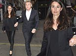 EXCLUSIVE ALL ROUNDER Gordon Ramsay and Tana Ramsay hold hand as they enjoy date night at J Sheeky fish restaurant in Covent Garden. Please byline: Vantagenews.com