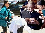 Malibu, CA - Kim Kardashian and Kanye West arrive with their kids for lunch at Nobu in Malibu. As Kanye carried North, Kim unloaded the stroller and pushed a sleeping Saint inside the popular eatery as security blocked the cameras for them.\nAKM-GSI   May 29, 2016\nTo License These Photos, Please Contact :\nMaria Buda\n(917) 242-1505\nmbuda@akmgsi.com\nsales@akmgsi.com\nor \nMark Satter\n(317) 691-9592\nmsatter@akmgsi.com\nsales@akmgsi.com