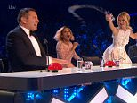 ****Ruckas Videograbs****  (01322) 861777 *IMPORTANT* Please credit ITV for this picture. 28/05/16 Britain's Got Talent - ITV1 Grabs from tonight's show. Final , Amanda throws water over David Walliams Office  (UK)  : 01322 861777 Mobile (UK)  : 07742 164 106 **IMPORTANT - PLEASE READ** The video grabs supplied by Ruckas Pictures always remain the copyright of the programme makers, we provide a service to purely capture and supply the images to the client, securing the copyright of the images will always remain the responsibility of the publisher at all times. Standard terms, conditions & minimum fees apply to our videograbs unless varied by agreement prior to publication.