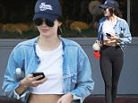 Picture Shows: Kendall Jenner  May 28, 2016\n \n Kendall Jenner leaves the Beverly Glen Deli after a casual business meeting with a group of friends in Bel-Air, California. Kendall looked cool and casual in a denim jacket and baseball cap.\n \n Non-Exclusive\n UK RIGHTS ONLY\n \n Pictures by : FameFlynet UK � 2016\n Tel : +44 (0)20 3551 5049\n Email : info@fameflynet.uk.com