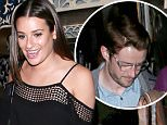 *EXCLUSIVE* Los Angeles, CA - Looks like Lea Michele has officially moved on! Just three months after splitting from her longtime boyfriend, Matthew Paetz, the 29-year-old Scream Queens star was spotted out in Los Angeles on Wednesday for a dinner date with her new beau, Robert Buckley. Michele and the iZombie actor, 35, had dinner at Pace Restaurant with Michele's Glee co-star, Becca Tobin, and her fianc?, Zach Martin.\nAKM-GSI          May 26, 2016\nTo License These Photos, Please Contact :\nSteve Ginsburg\n(310) 505-8447\n(323) 423-9397\nsteve@akmgsi.com\nsales@akmgsi.com\nor\nMaria Buda\n(917) 242-1505\nmbuda@akmgsi.com\nginsburgspalyinc@gmail.com