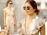 Mandatory Credit: Photo by SJX/Shutterstock/REX/Shutterstock (5696861e)\nOlivia Culpo\nOlivia Culpo out and about, Los Angeles, America - 28 May 2016\nOlivia Culpo waits for a valet to retrieve her vehicle in Hollywood\n