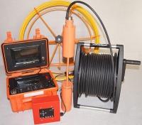 Устройство «Сектор-2ЭМ» - 2 камеры, 2 монитора, 2 аккумулятора, видеодиагностика, на прутке!