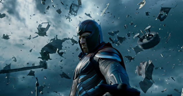 "In this image released by Twentieth Century Fox, Magneto, portrayed by Michael Fassbender, appears in a scene from, ""X-Men: Apocalypse."" (Twentieth Century F..."