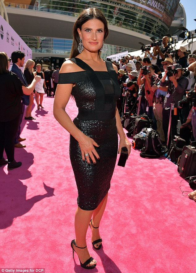 She's OK with it: Idina Menzel, who voices Princess Elsa in Frozen, is fine with her character having a girlfriend in the sequel, the 44-year-old said during an interview at theBillboard Music Awards in Las Vegas