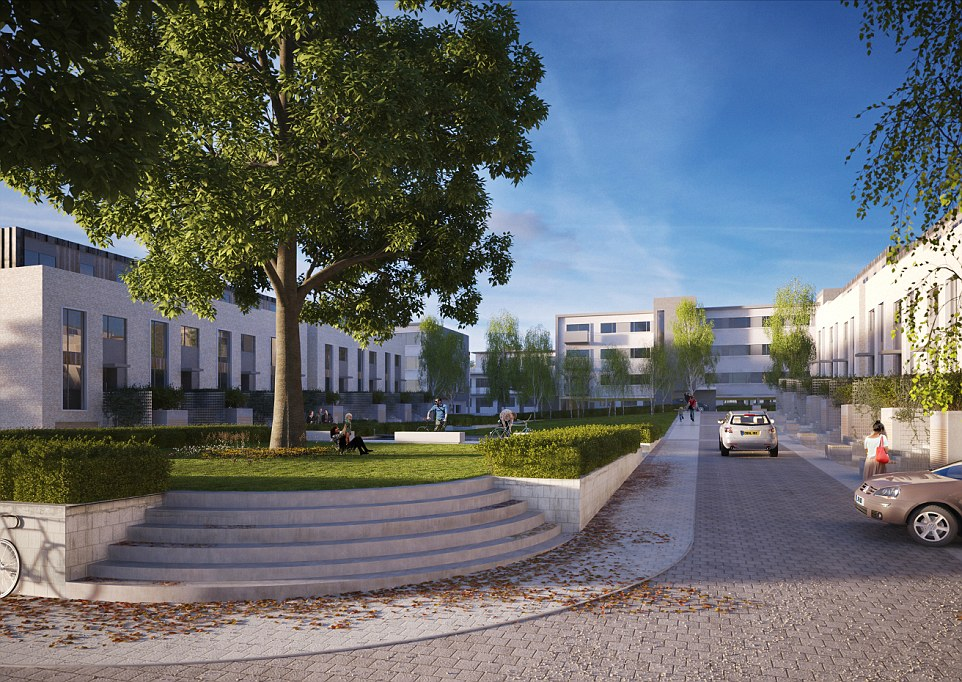Denham Film Studios and will provide 224 converted and newly built homes; including 154 one, two and three bedroom apartments and 70 four and five bedroom family townhouses