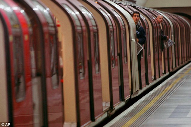 The Central Line, pictured at Holborn Station, will be one of the first two lines to launch a night service from August 19 this summer